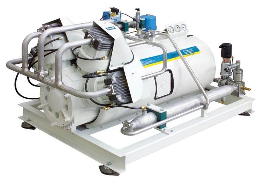 Compresseurs de gaz synthétique