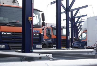 CNG tankinstallatie voor 20 voertuigen